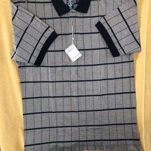 SUNICE men's golf shirt